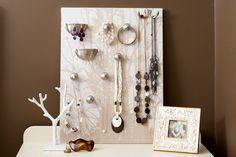 Support à bijoux, #DIY