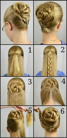 How to Curl Your Hair With a Curling Iron (full head tutorial) . Casual Half Up Hair Tutorial (+ polka dots!) Quick Curls and a Headband Hair Tutorial affiliate link Girl Hairstyles, Braided Hairstyles, Braided Updo, Ballet Hairstyles, Step Hairstyle, Simple Hairstyles, Wedding Hairstyles, Bun Braid, Wavy Haircuts
