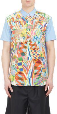 Comme des Garçons SHIRT Psychedelic Patchwork Shirt