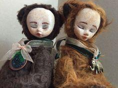 Мишель. Тедди долл – купить в интернет-магазине на Ярмарке Мастеров с доставкой - G2ERTRU   Москва Halloween Face Makeup, Dolls, Puppet, Doll, Baby, Baby Dolls