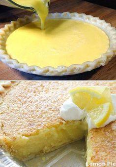 Arizona Sunshine Lemon Pie – Easy Recipes