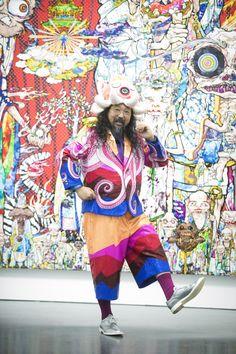 Takashi Murakami Has a Massive Retrospective Show in Chicago - VICE Murakami Artist, Takashi Murakami Art, Takashi Murakami Sculpture, Abstract Portrait Painting, Portrait Paintings, Acrylic Paintings, Art Paintings, Abstract Art, James Rosenquist