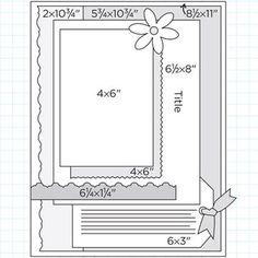 Scrapbook Page Sketches 31-60