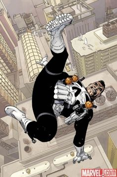 PUNISHER ANNUAL #1 art by Jason Pearson
