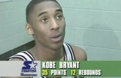 KOBE Bryant was a high school basketball phenomenon before he became an NBA legend with the LA Lakers - and rare footage shows just how good he was as a teenager. Young Kobe Bryant, Kobe Bryant 8, Kobe Bryant Family, Lakers Kobe Bryant, Bryant Basketball, High School Basketball, Love And Basketball, Kobe Bryant High School, High School Games
