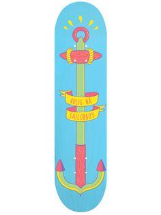 colorful skate illustration