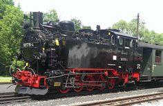 Erzgebirge, Preßnitztalbahn Steinbach, Jöhstadt