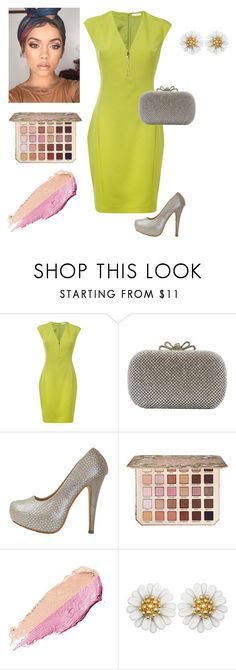 """""""Limeade"""" by chicastic on Polyvore featuring Versace, Too Faced Cosmetics and By Terry"""