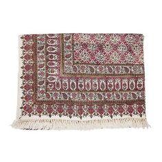 Persian Ghalamkari Tapestry Table Cloth Calico 135 × 200 cm #atarian #AsianOriental