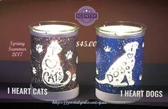Scentsy new I Heart Cats Warmer and Scentsy I Heart Dogs warmers. Scentsy Spring Summer 2017 new releases. Each are 6.5 inch tall and $45.00. You can get them March 1, 2017 at https://postalgirl.scentsy.us