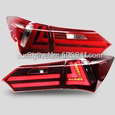 329.99$  Buy here - http://alipyx.worldwells.pw/go.php?t=32252785098 - For TOYOTA Corolla Altis LED Tail light 2014 YZ 329.99$