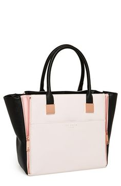 Ted Baker London Leather Shopper available at #Nordstrom...yum