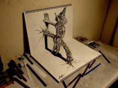 Unbelievable 3D Drawings – BoredBug