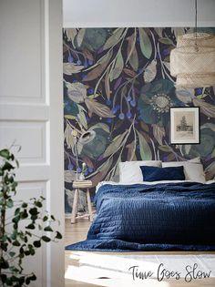 Vinyl Wallpaper, Wallpaper Decor, Wallpaper For House, Wallpaper In Bedroom, Wallpaper Quotes, Bts Wallpaper, Accent Wall Bedroom, Bedroom Decor, Fantastic Wallpapers