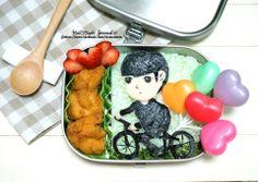 Bento #220 Do Min-joon proposing to Cheon Song-yi Lunchbox  都敏俊和千颂伊求婚便当  https://www.facebook.com/Huinobento