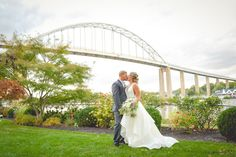 Fall wedding in Chesapeake City MD on the Moon Properties site.