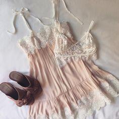 The Lola Slip Dress & Christy Bralette