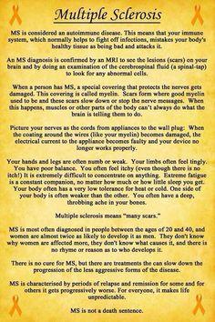 Excellent description of MS.