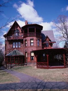 Mark Twain House.  Hartford,CT.