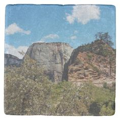 Scout Lookout Zion National Park Utah Stone Coaster