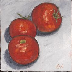 Tomatoes are Red Too Painting Gallery, Art Blog, Tomatoes, Sweet Potato, Vegetables, Red, Vegetable Recipes, Veggies