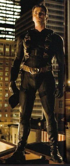 "Christian Bale in ""Batman Begins"" - Karan Pal"