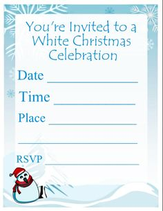 117 Best Christmas Party Invitations Images On Pinterest Christmas