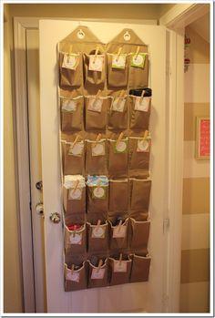 great idea for a closet!