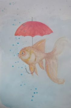 Baby Art, Goldfish, Minnie Mouse, Magic, Pets, Painting, Animals, Animales, Animaux