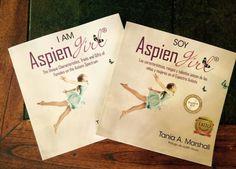 I Am AspienGirl in English & Spanish #iamaspiengirl #soyaspiengirl #autism #autisticgirls www.AspienGirl.com