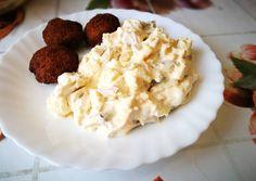 Orosz hússaláta Potato Salad, Mashed Potatoes, Cauliflower, Vegetables, Ethnic Recipes, Food, Whipped Potatoes, Cauliflowers, Smash Potatoes
