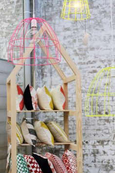 amazing fluro lighting from the koskela showroom in sydney {life instyle blog}. #lifeinstyle #greenwithenvy