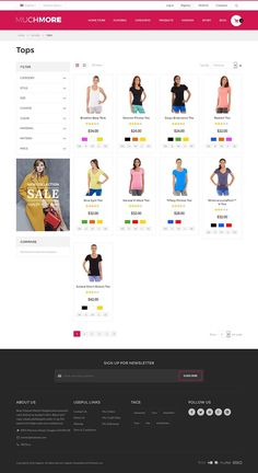 Clothing Store Magento1 & 2 Theme by giao.trinh on @creativemarket