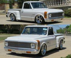 1968 Chevy Truck, Custom Chevy Trucks, C10 Trucks, Classic Chevy Trucks, Big Rig Trucks, Chevrolet Trucks, Pickup Trucks, Classic Cars, Mini Trucks