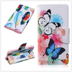 Luxury Stand PU Leather Case For Mobile Phone Samsung Galaxy A5 A5000 pattern Wallet Flip Covers Cases Card Holder Phone