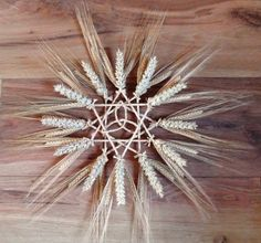 mabon wreath | ... Handfasting Gift Natural Wheat Celtic Trinity Wreath Beltane Lamas