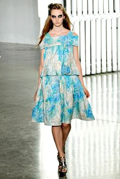 Rodarte Spring 2012 Ready-to-Wear Fashion Show - Codie Young