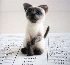 I had two cats that looked exactly like this! But they were the real thing! So pretty!