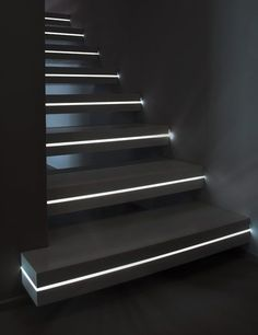 New Luxo line of CORIAN and marble staircases which stand out due to the integration of ambiance lighting. For today we would like to present the new Luxo line of CORIAN and marble stairs with light insertions for futuristic home designs.