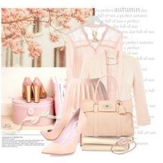 Proudly wearing pink