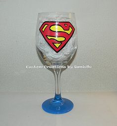 Superman wine glass *** Find out more about the great product at the image link.
