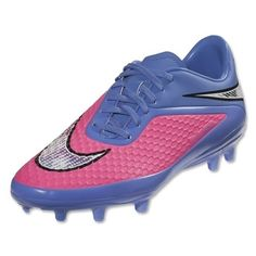 Nike Hypervenom Phelon FG women soccer cleats 599077- 641 Purple/ Pink Phantom #nike