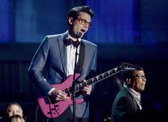 that hot pink guitar