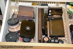Beauty and Backbends: Makeup Organization