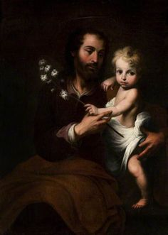 St Joseph with the Infant Jesus,  Bartolomé Esteban Murillo (1617–1682) (after),  Glasgow Museums Resource Centre (GMRC)