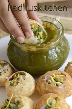 One of the most popular street food/ chaat in India -Pani Puri also know as Golgappas made easier