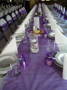 lila esküvői dekoráció - Google keresés