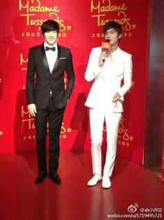2013-4-19 Madame Tussauds wax inauguration in Shanghai | Lee Min Ho
