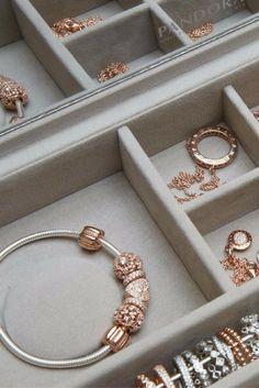 Choose charms, bracelets, rings, earrings, and necklaces from PANDORA. #PANDORATexas #PANDORARose #PANDORAjewelry
