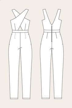 Ailakki Cross Front Jumpsuit - Named